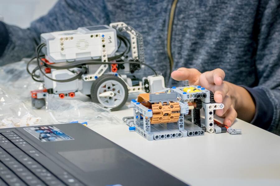 Projekte der Robotik-AG 2017