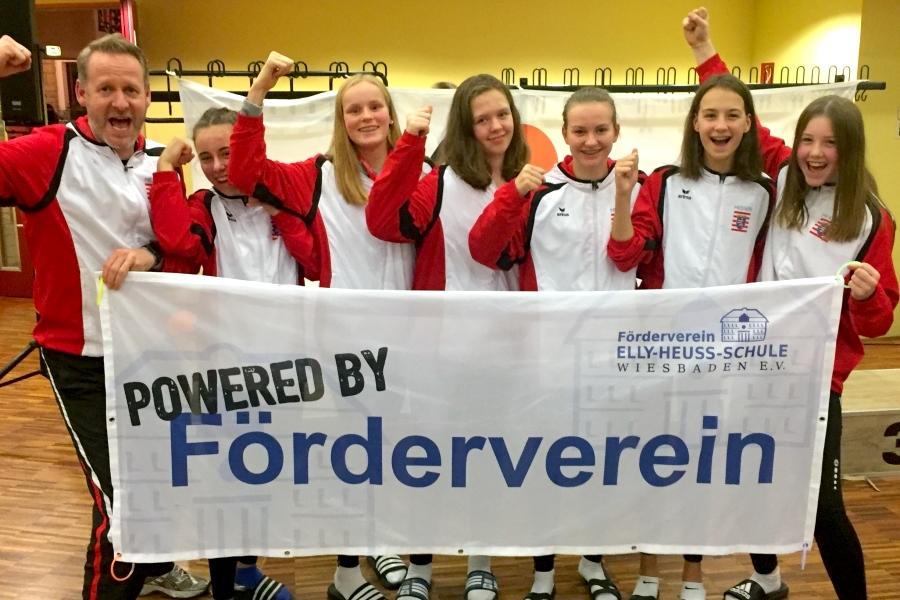 Volleyballerinnen erreichen 5. Platz bei Schul-DM
