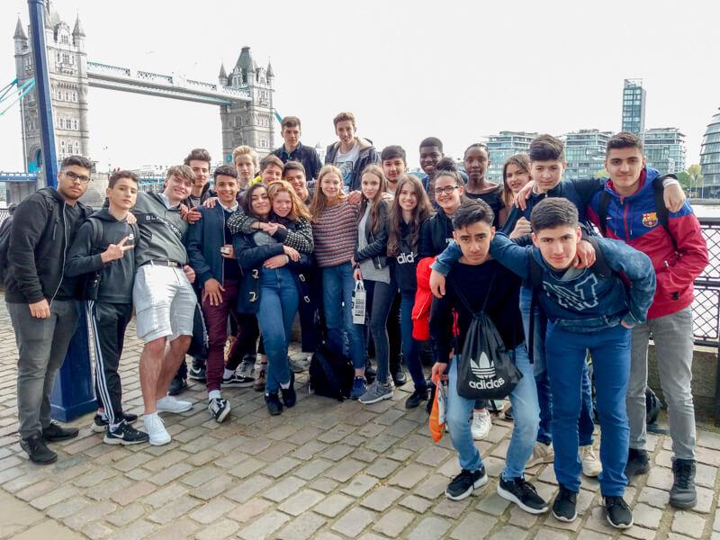 Erlebnisreiche Klassenfahrt nach England