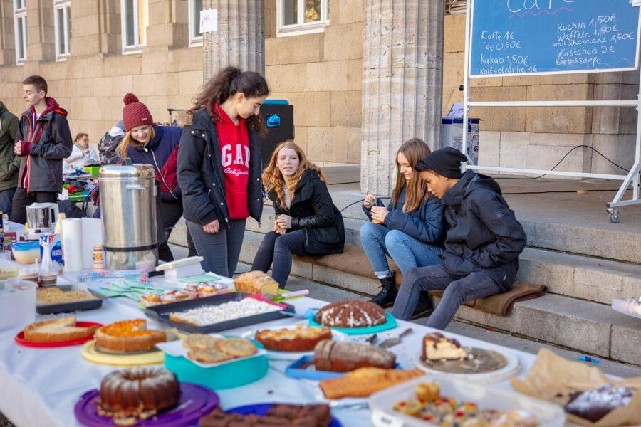 Flohmarkt an der Elly-Heuss-Schule