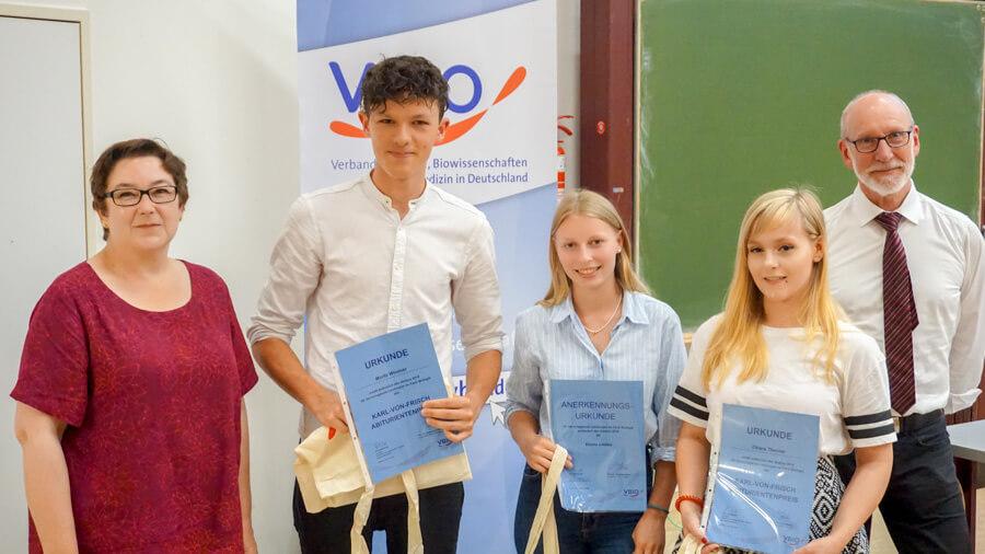 Verleihung des Karl-von-Frisch-Preises
