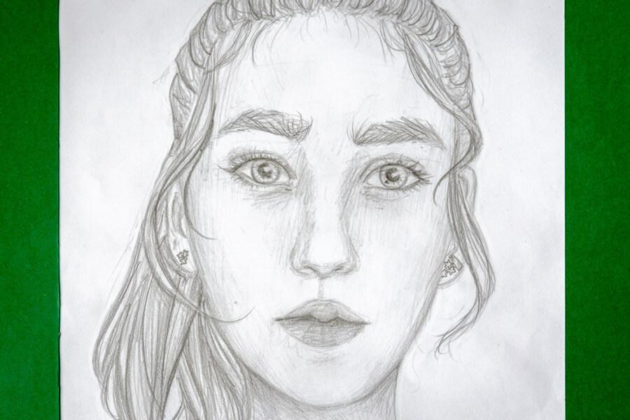 Wunderschöne Porträts mit Bleitstift