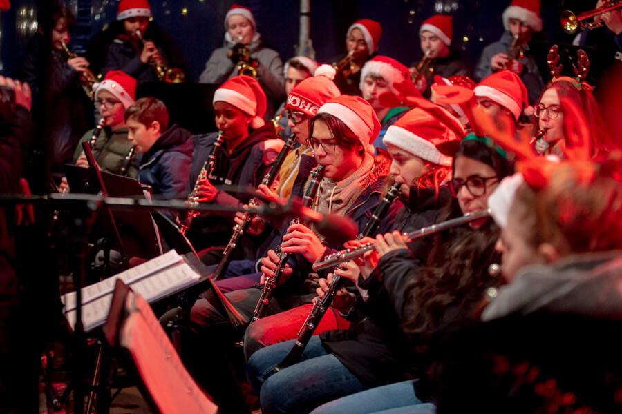 Ellys Musiker auf dem Sternschnuppenmarkt