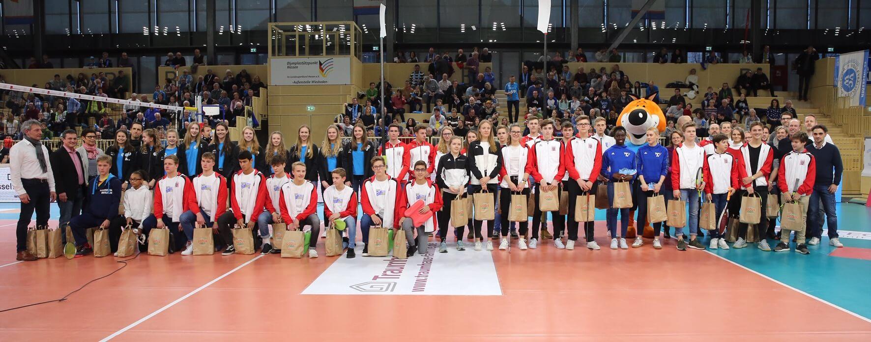 Sportlerehrung des Regionalen Talentzentrums