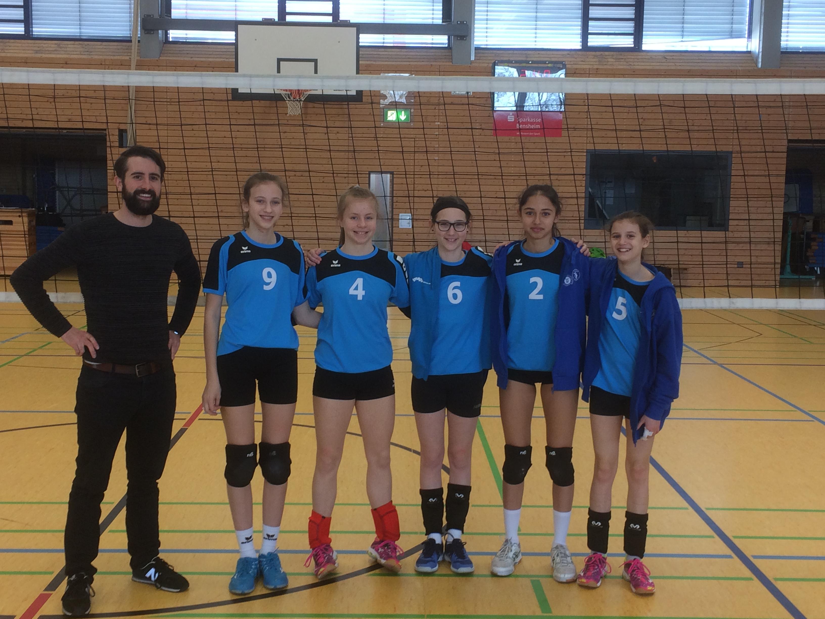 Volleyballerinnen gewinnen auch WK4-Regionalentscheid