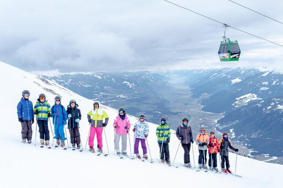 Skifahrt nach Neukirchen am Großvenediger