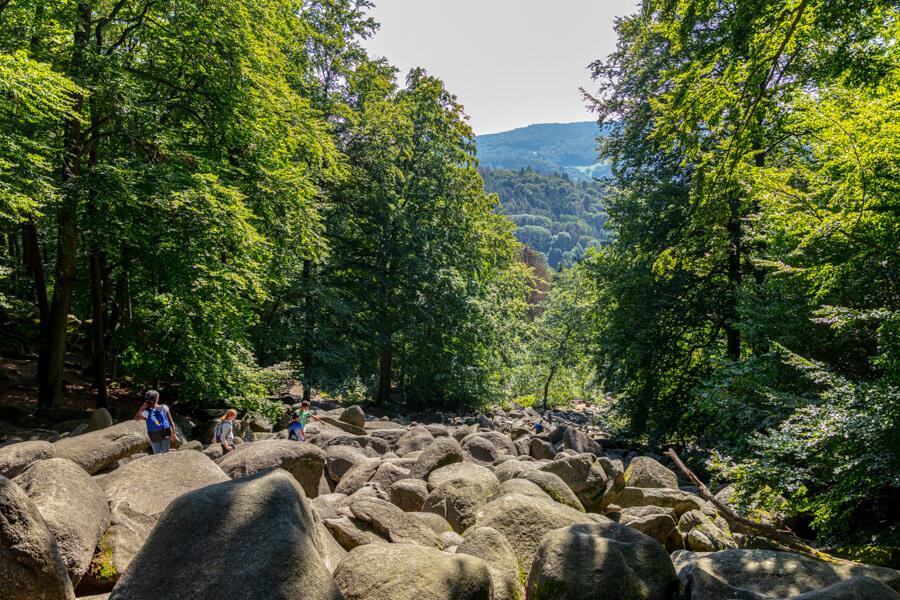 Ausflug ins Felsenmeer im Odenwald