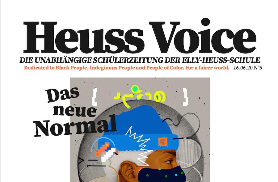 Juni-Ausgabe der Heuss Voice Schülerzeitung